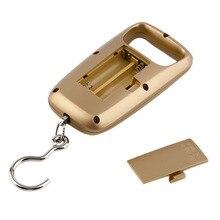 3 stücke Tasche Tragbare Mini 50 kg LCD Digital Hängende Gepäck Gewicht Haken Skala Heißer