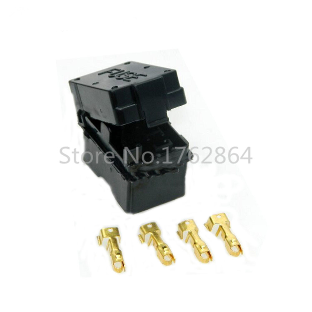 hight resolution of 4 way auto fuse box assembly with terminals dustproof fuse box fuse box mounting fuse box