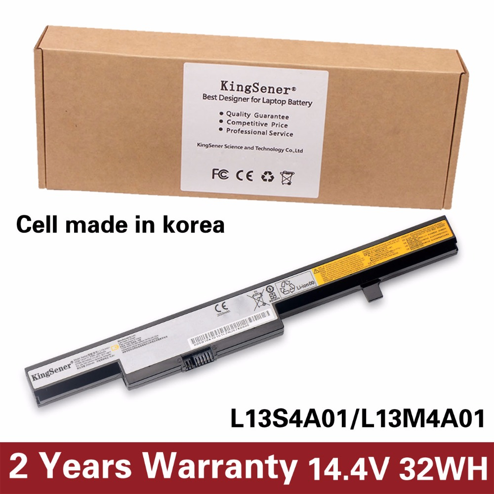 Korea Cell New L13L4A01 Battery for Lenovo B50-70 B40-70 B50-30 B50-45 B40-30 B50 M4450 M4400 M4400A L13S4A01 L13M4A01 32WH недорго, оригинальная цена