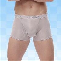 2017 New Men Silk Underwear Pants Comfortable Breathable 100 Mulberry Silk Shorts
