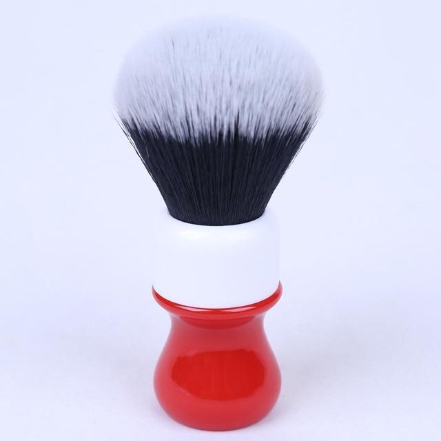 26mm Ferrari Rough Complex White Version Shaving Brush With Tuxedo Knot 1