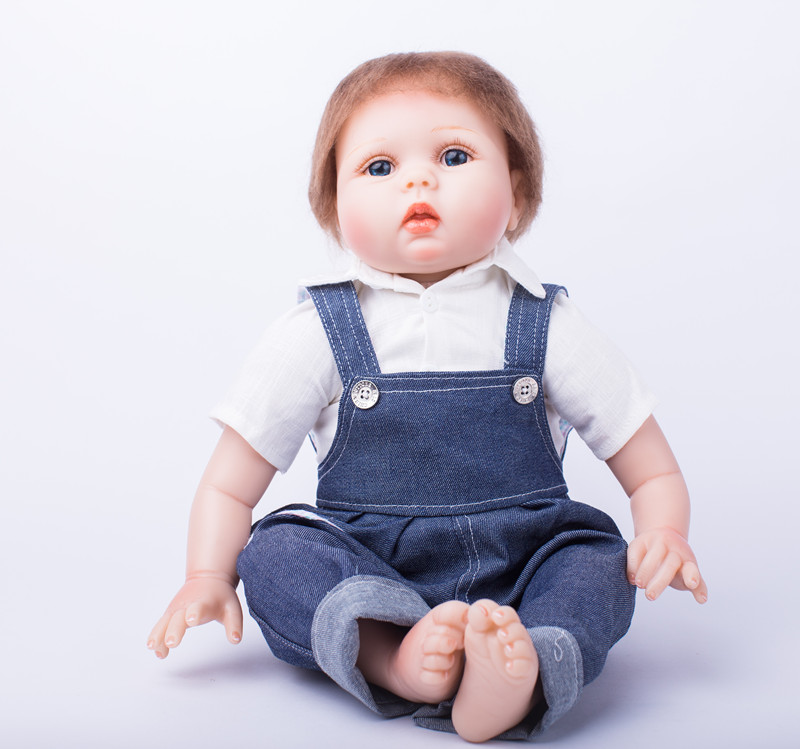55cm Soft Silicone Reborn Boy Baby Doll With Handmade Clothes Nipple Bottle Girls Brinquedos Early Education Toy Reborn Babies D reborn early diaries 1947 1963