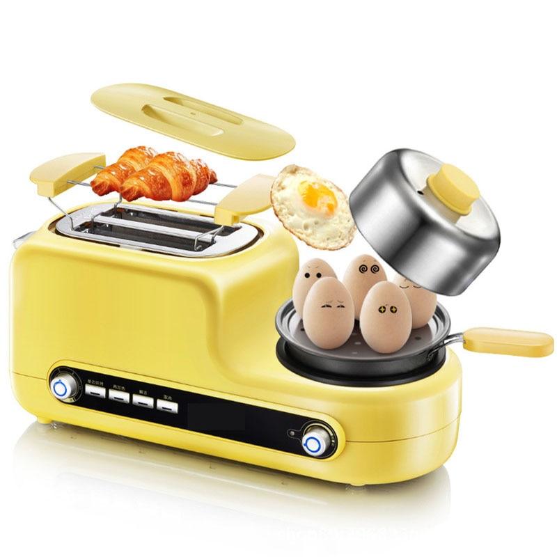 Тостер для дома 2 ломтика для тостер для завтрака хлебопечка машина кухонная техника