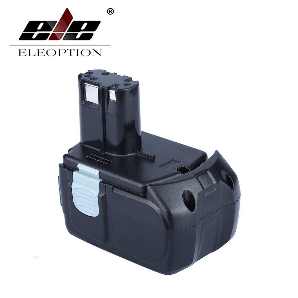 ELEOPTION High Capacity 18V 5000mAh Li-ion for HITACHI Rechargeable Power Tool Battery BCL1815 BCL1830 EBM1830 327730 купить в Москве 2019