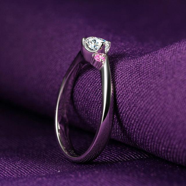 14K White Gold 0.5CT Lab Grown Diamond Ring