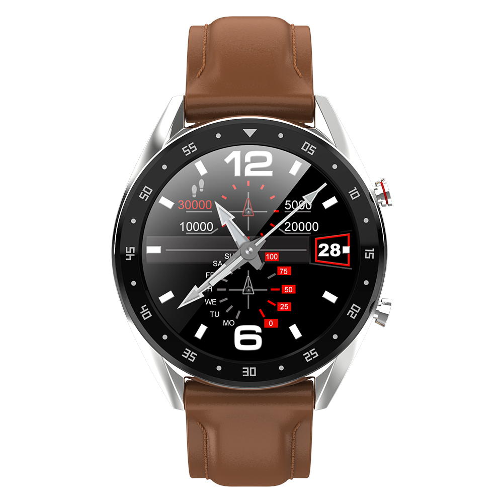 Color large screen photo smart watch blood pressure monitor pedometer GPS positioning stainless steel strap for Android iphoneColor large screen photo smart watch blood pressure monitor pedometer GPS positioning stainless steel strap for Android iphone