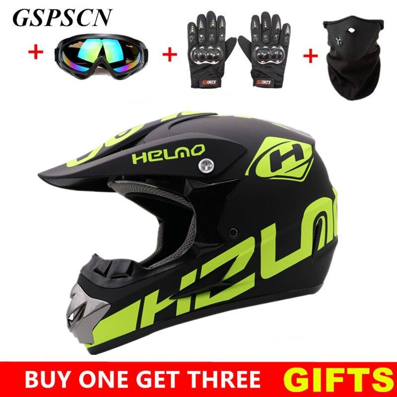 GSPSCN 2019 casque de moto cross tout-terrain professionnel vtt Cross casques vtt DH course moto casque de moto tout-terrain cascos para moto
