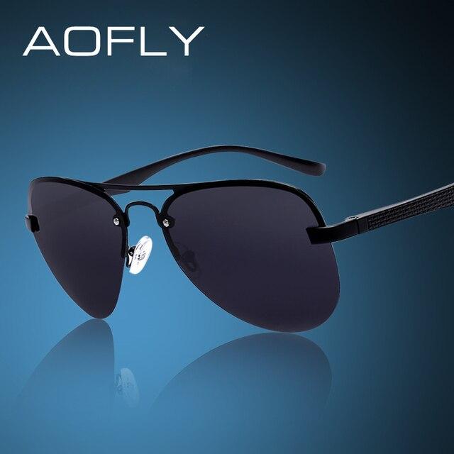AOFLY Fashion Sunglasses Male Polarized Driving Sun Glasses Men Brand Design Fishing Sports Glasses With Original BOX Oculos