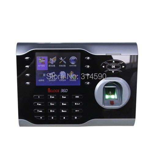 ZK Fingerprint Attendance 10000 Fingerprint Time Attendance with TCP/IP Fingerprint Time Clock Machine iclock360