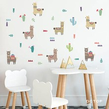 Alpaca Wall Sticker Kaufen Billigalpaca Wall Sticker Partien
