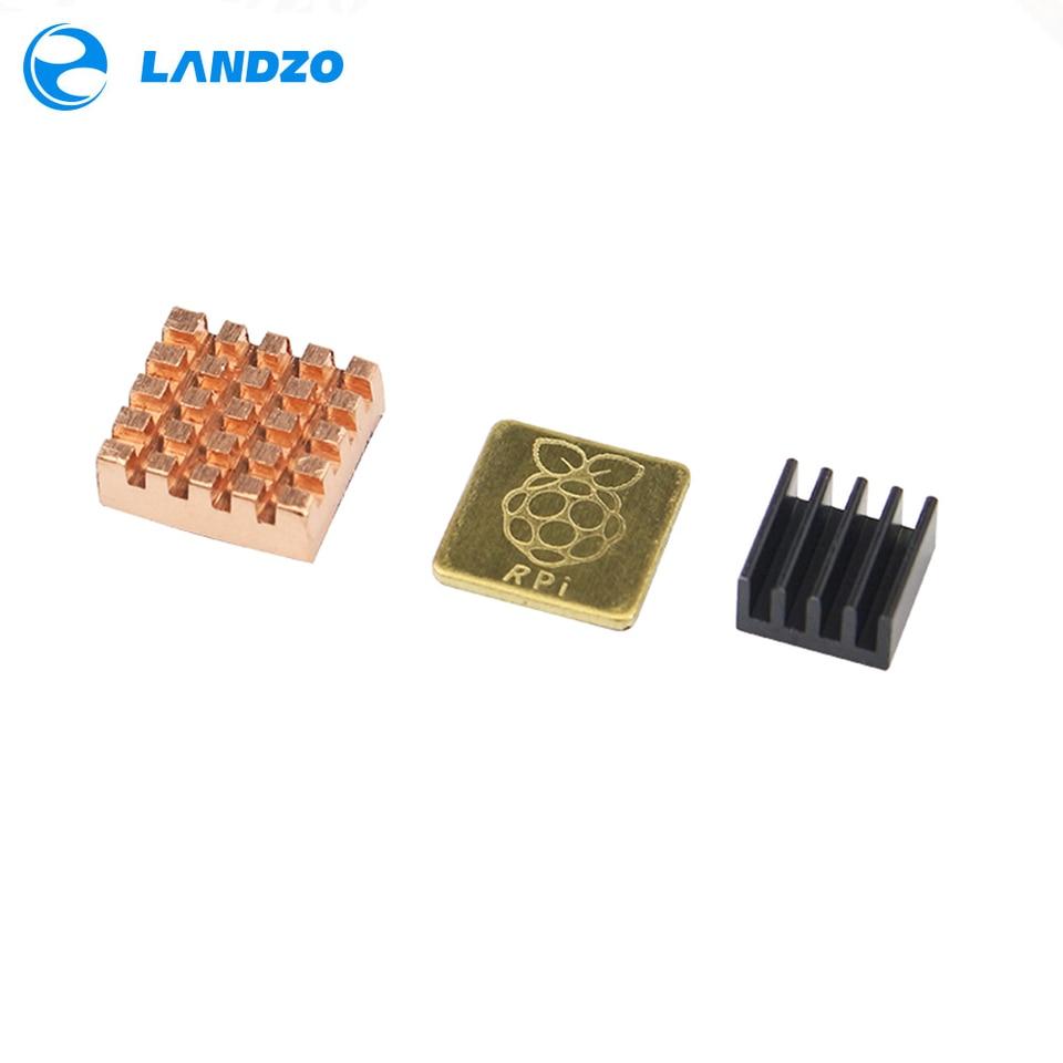 3 Model B Aluminum Heat Sink Raspberry Pi RPI Cooling CPU Copper Heat Sink E$cb