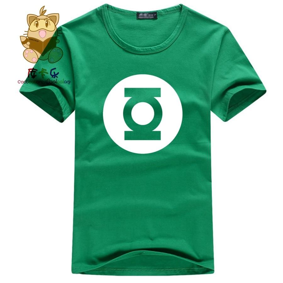 Red Lantern Symbol tee Big Bang Theory Sheldon t-shirt MENS LARGE