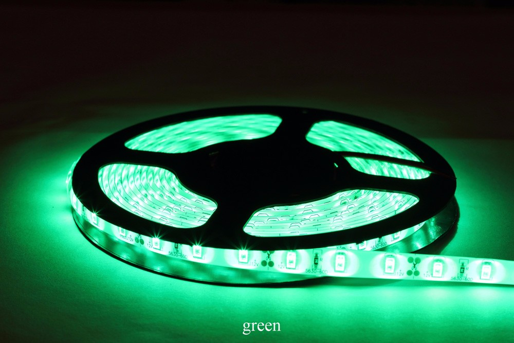 5m 5630 IP65 waterproof LED Strip Light 12V 60LEDs/M Led Tape outdoor lighting tiras led for christmas decoration CE RoHS