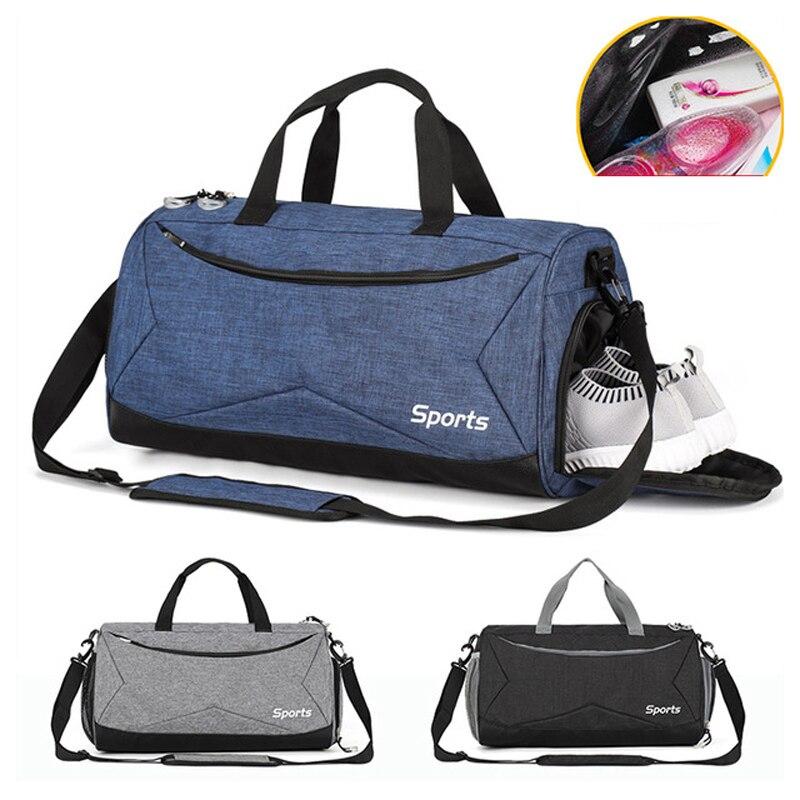 Yoga Fitness Gym bag sac de sport bags Dry Wet Handbags Swimming For Women Men Shoes Tas Travel Training Waterproof