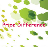 Price difference on Your Order(Add to Cart, and pay together)