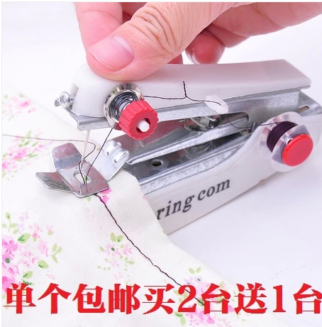 Free Shipping Handheld Sewing Machine Handy Stitch Super Easy To Classy Easy Hand Sewing Machine