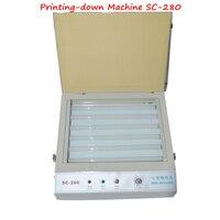 Unidade de Exposição UV para Hot Foil Tampografia PCB/Versão Resina Máquina de Impressão-down/PS Cópia da Edição máquina SC-280