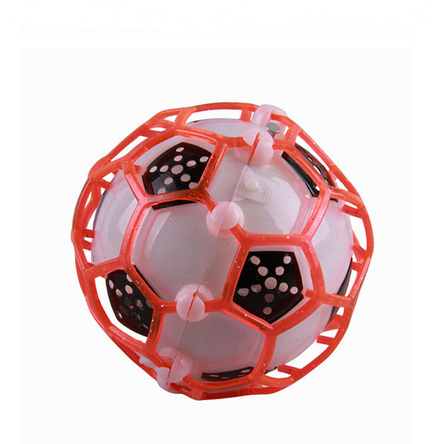 1pc LED Light Jumping Ball Children's Funny Toy  Kids Crazy Music Football Bouncing Dancing Balls Christmas Gifts Kids Toys HOT