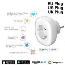 WIFI חכם מטען האיחוד האירופי תקע 220 V 16A מרחוק בקרת קול שליטה חכם עיתוי מתג לעבוד עבור אמזון Alexa/ גוגל עוזר