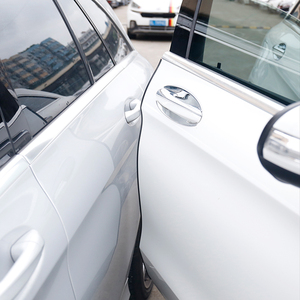 Image 1 - 5M Universal Car Door Edge Guards Trim Molding Protection Strip Scratch Protector For Toyota Camry Prado Corolla Prius RAV4
