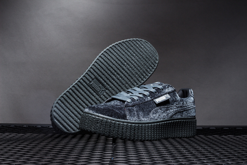 Puma shoes puma Velvet thick-soled platform shoes Shoes for men and women  wool velvet size 36-44 93bf4ea65