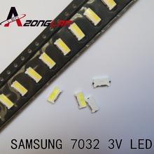 Led 1000Pcs Backlight Edge Led Serie TS731A 3V 7032 SPBWH1732S1B Koel Wit Tv Toepassing Voor Samsung
