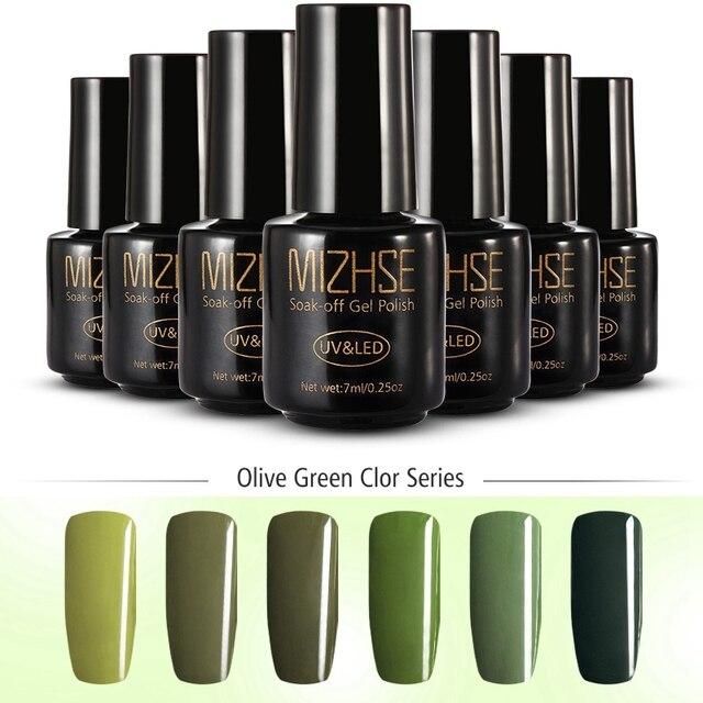 Gel Nail Polish Green Pinpoint Properties