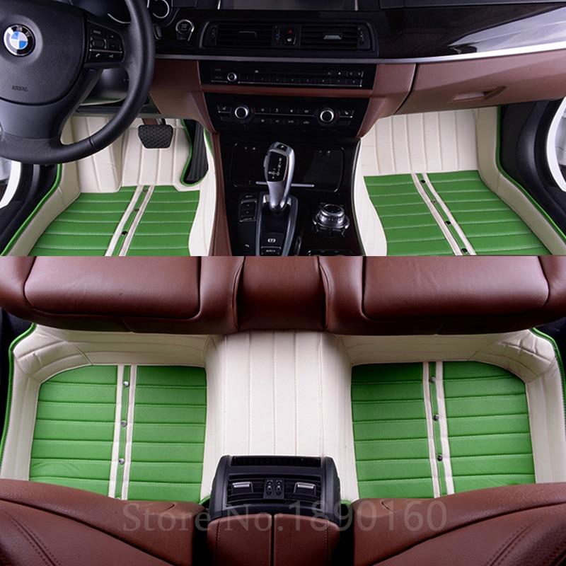 preproga za avto za Volkswagen vw Skoda Toyota Subaru BMW Kia Nissan - Dodatki za notranjost avtomobila - Fotografija 4