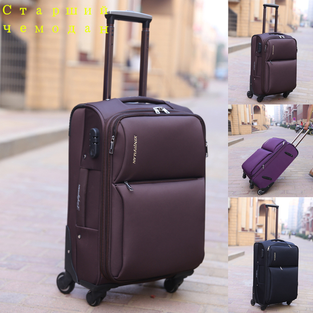 Aliexpress.com : Buy Good quality travel luggage oxford suitcase ...
