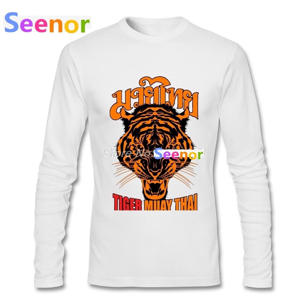 Men T Shirt Boxinger 2018 Fashion Tiger Muay Thai Tee Shirts Custom