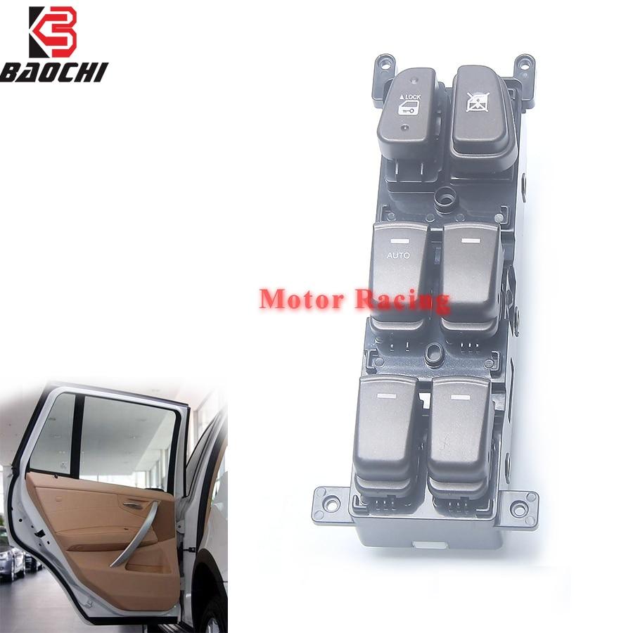 AUTO Master LHD Button Car Power Windows Switch 93570-3K600 935703K600 93570 3K600 For Hyundai NF Sonata GL SE 2008 2009 2010