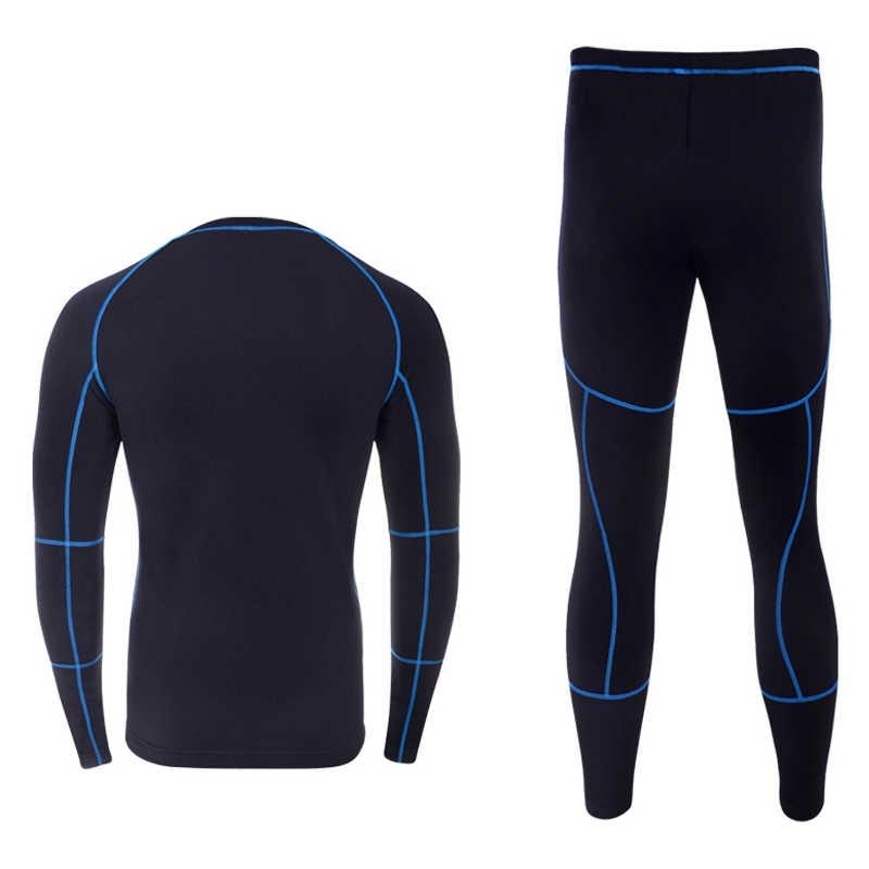 열 속옷 세트 2020 새로운 남자 겨울 양 털 긴 존스 편안한 따뜻한 열 속옷 두꺼운 통기성 스타킹