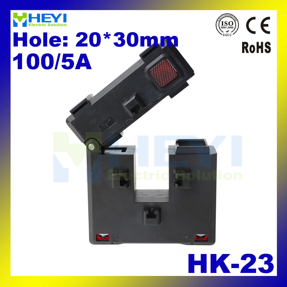 цена на Amazing Update clamp on split core current transformer HK-23 100/5A Class 1.0 high capacity clip on ct