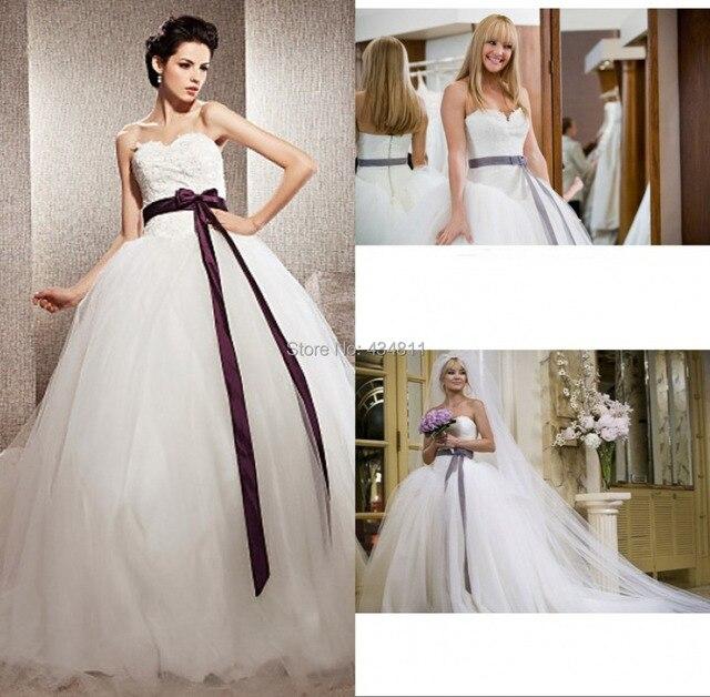 2015 New Fashion Kate Hudson Wedding Dress in Movie Bride Wars 2 ...