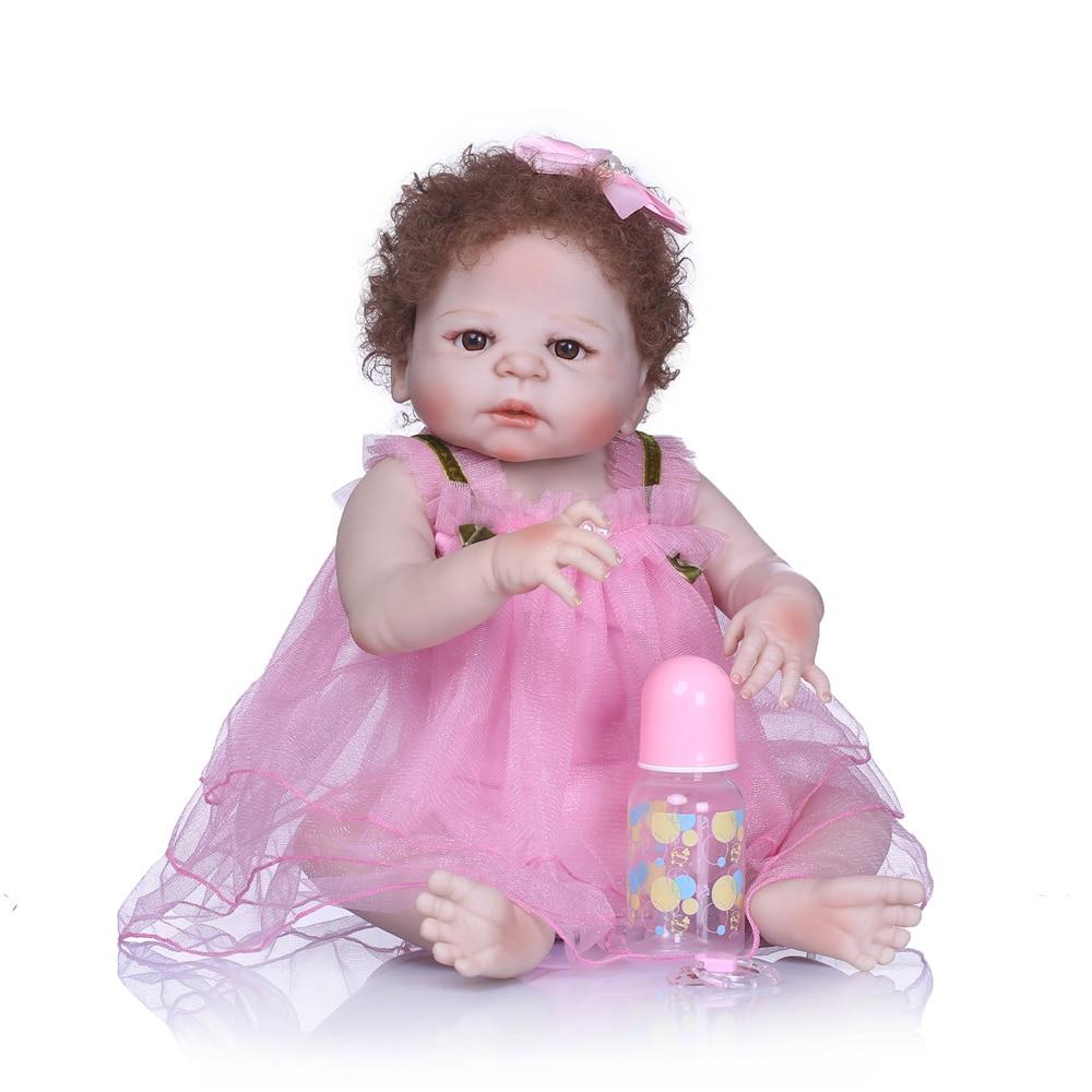 NPK Lifelike  Princess Reborn real Dolls Girl 57CM Full Silicone VInyl Baby Bath Toy Super Realistic Doll Bebes Reborn BrinquedoNPK Lifelike  Princess Reborn real Dolls Girl 57CM Full Silicone VInyl Baby Bath Toy Super Realistic Doll Bebes Reborn Brinquedo