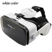 DSstyles Z4 Leather 3D Cardboard Helmet Virtual Reality VR Glasses Headset Stereo Box pimax 4k virtual pc glasses vr 3d box glasses video helmet cardboard with headphone with auto light adjustment
