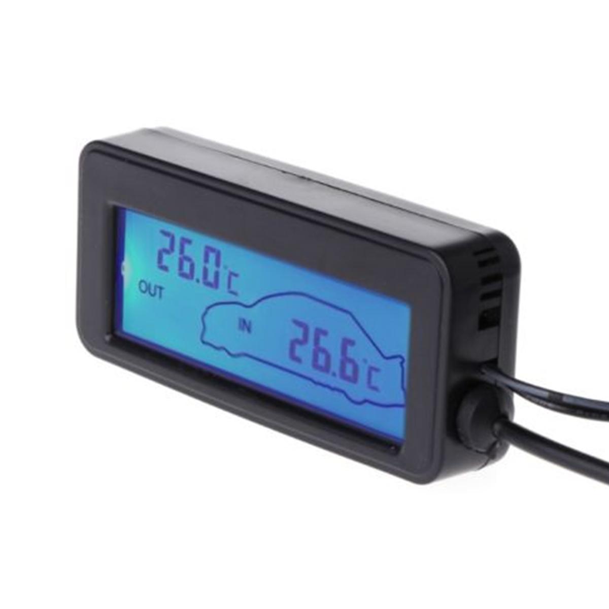 1 Mini termómetro Digital LCD con pantalla para coche Inter/Exter, termómetro Digital integrado 35 Placa de control de acceso EMID 125KHZ RFID integrado Tablero de control DC12V Tablero de control normalmente cerrado