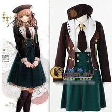 Anime Amnesia Heroine Cosplay Disfraces uniforme niña de la escuela de Londres de la Vendimia conjunto Completo de Disfraces de Halloween para las mujeres Por Encargo