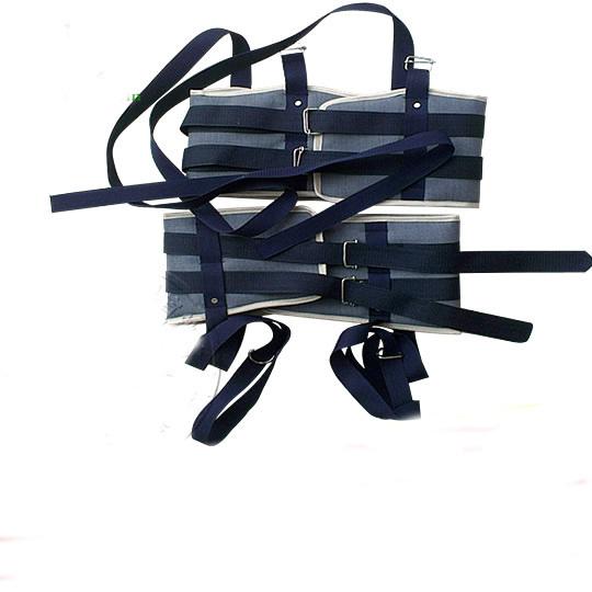 Uso en el hogar la pelvis y lumbar correa de tracción con el desplegable cinta de sujeción Cepa de hernia de disco lumbar
