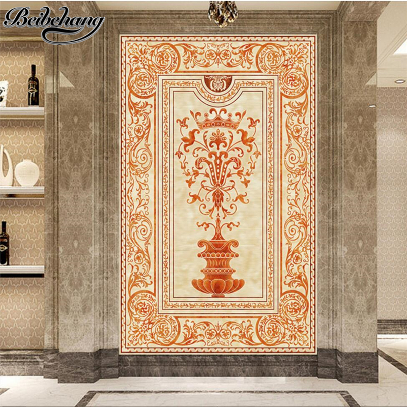 beibehang Custom 3d wallpaper three-dimensional classic European ...