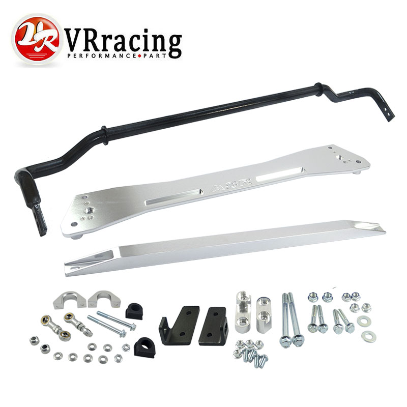 ФОТО VR- NEW SWAY BAR FOR HONDA 92-95 EG SUB FRAME + LOWER TIE BAR  +  24MM SWAY BAR FOR CIVIC INTEGRA 1994-2001 VR1013+SBG11S+TB41S