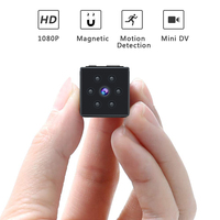 HD 1080P Mini Camera sport DV Portable Covert Body Cam with Night Vision and Motion Detection Small Security Carmera hidden card