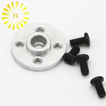 Disco de engranaje de dirección de Metal Stent 25 T Servo brazo tipo redondo para MG995 MG996R RC Robot Coche