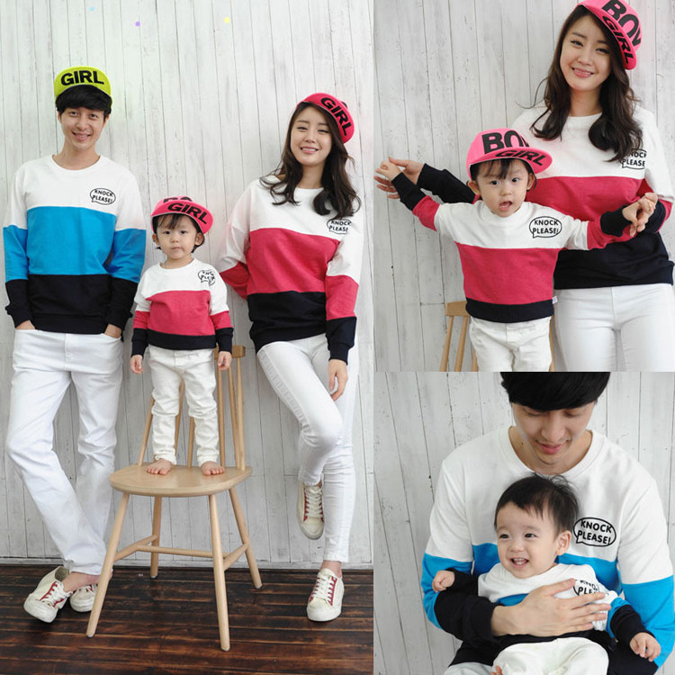Family Matching Outfits Mom/Dad/Baby Stripe Long Sleeve Cotton T shirts spring/autumn Family Clothing sets family clothing-in Matching Family Outfits from ...  sc 1 st  AliExpress.com & Family Matching Outfits Mom/Dad/Baby Stripe Long Sleeve Cotton T ...