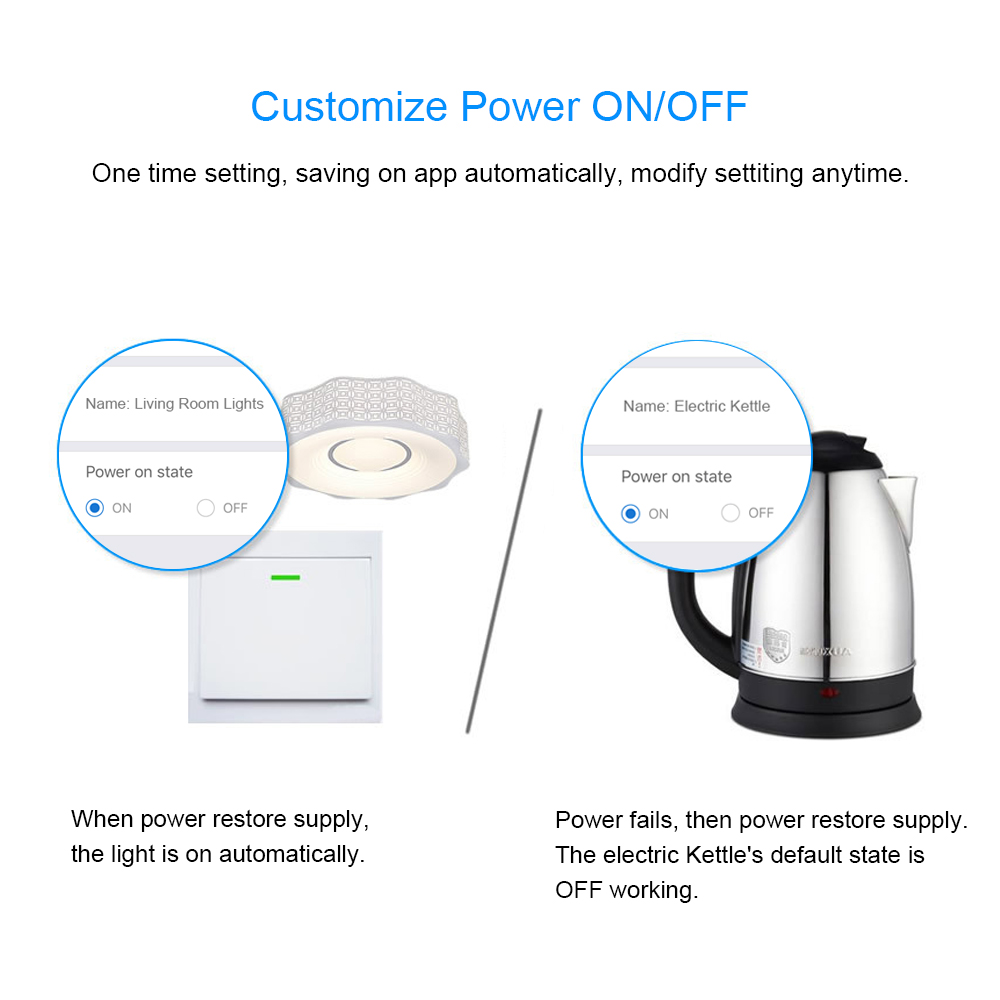 Customize Power ON OFF