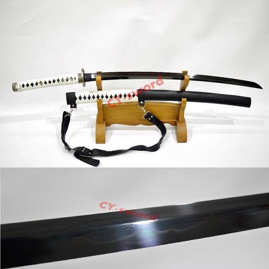 Ev ve Bahçe'ten Kılıçlar'de Kil Temperli T 10 Çelik Yürüyüş Ölü Katana Michonne's Kılıç ZOMBI Katil Savaş Hazır'da  Grup 1