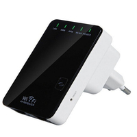 New 300Mbps Wireless Mini Single Router AP Repeater Retail Packaging Free Shipping Dropshipping