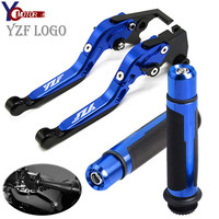 Motorcycle Accessories Folding Brake Clutch Levers handle grips FOR YAMAHA YZF R1 1999 2003 YZF R6 1999 2004 YZF600R thundercat