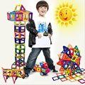 Los niños de Juguete Ladrillos 47 unids 80 unids Magnética Juguetes de Construcción de Bloques de Construcción Diy 3D Juguetes de Regalo