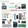 Proster Starter Kit für Anfänger Breadboard arduino sensor 1602 LCD jumper Draht UNO R3 Widerstand